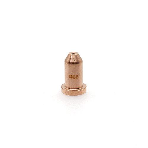 249928 Plasma Cutting Tip 40A for Miller Spectrum 375 625 X-TREME XT30 XT40 Torch (Miller Spectrum 625 Plasma Cutter)