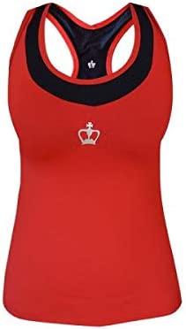 Black Crown Camiseta Tirana Rojo Negro Mujer: Amazon.es ...