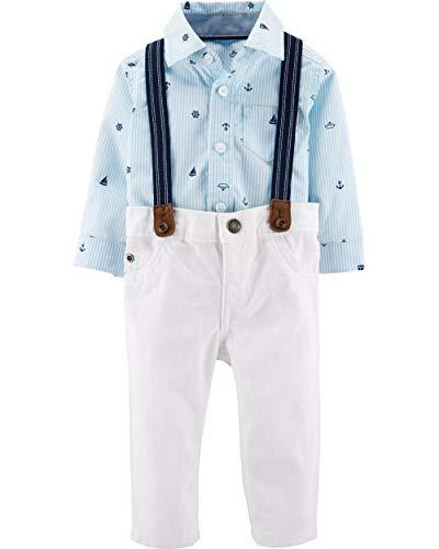 Carter's Baby Boys' 3 Piece Dress Me Up Set (6 Months, -
