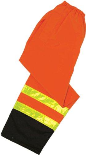 Orange Fits 2X-Large and 3X-Large ML Kishigo RWP101 Storm Stopper Pro Rainwear Pant