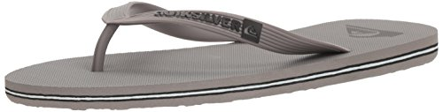 Quiksilver Men's Molokai Sandal, Grey, 10 M US for sale  Delivered anywhere in Canada