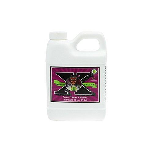 Advanced Nutrients 2340-12 Bud Factor X Fertilizer, 250 mL, 0.25 Liter, Brown/A