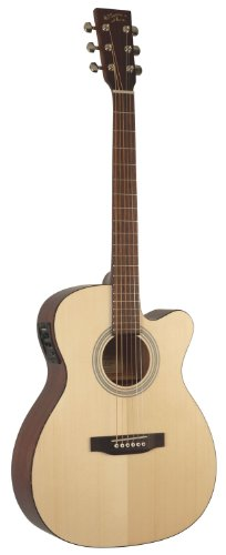 recording-king-rom-06-cfe4-cutaway-electric-om-style-acoustic