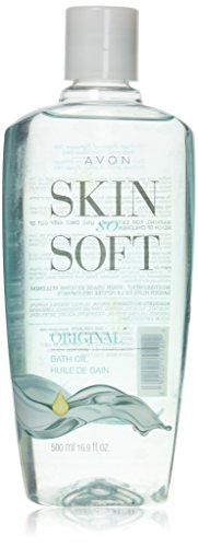 AVON SKIN SO SOFT Bath oil 16.9 ozOriginal Scent (Best Moisturizer For 30 Year Old)