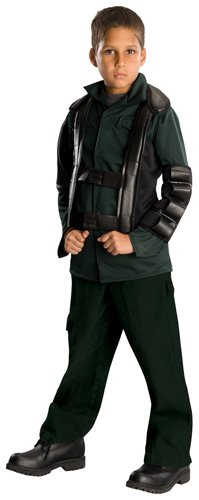 Post Apocalyptic Girl Costume (Terminator Salvation Movie Child's Costume Deluxe John Connor, Medium)