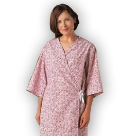 Exam Gown - Mammography Patient Gown(3/pack) by Personal Touch