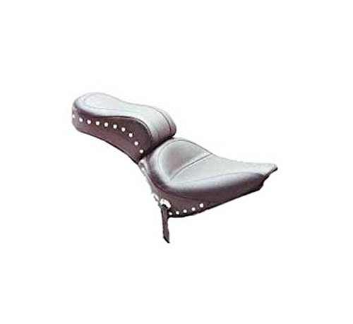 Mustang One-Piece Skirted Seat with Studs 75303 - Wide Seat Mustang Stud