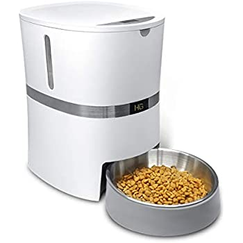 Amazon Com Honeyguaridan A36 Automatic Pet Feeder Dog Cat Rabbit