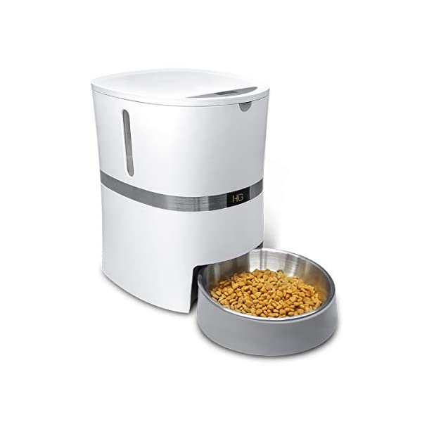 HoneyGuaridan A36 Automatic Pet Feeder, Dog, Cat, Rabbit & Small Animals Food Dispenser with Stainless Steel Pet Food… Click on image for further info.