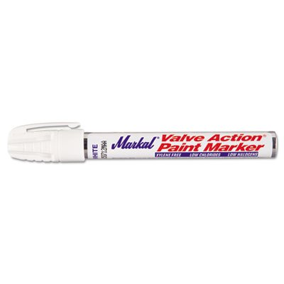 Action Valve (Valve Action Paint Marker, White, Sold as 1 Each)