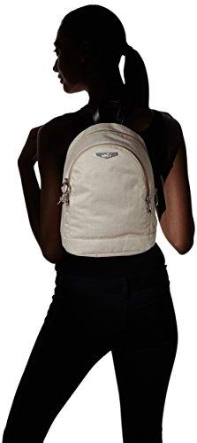 Kipling Yaretzi KC, Sac porté dos - Beige (Woven Cream_59T)