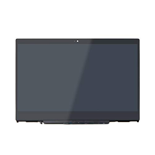LCDOLED Replacement 14 inches IPS 1080P LCD Touch Screen Assembly Bezel with Board for HP Pavilion x360 14m-cd0000 14-cd0011nr 14m-cd0001dx 14m-cd0003dx 14m-cd0005dx 14m-cd0006dx(1920x1080 Resolution)