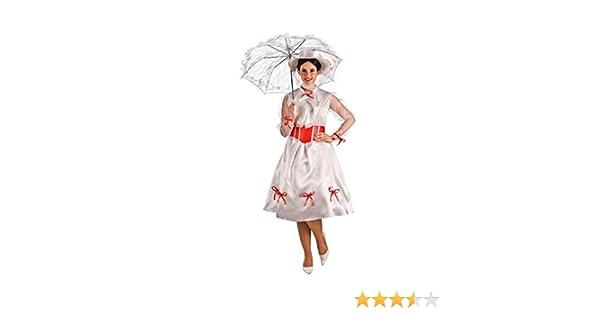 El Rey del Carnaval Disfraz de Niñera Mágica para Mujer: Amazon.es ...