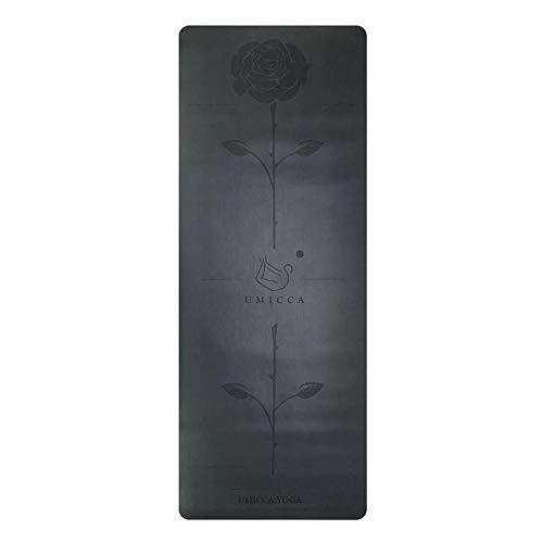 YOOMAT Mehr mehr 183 cm  68 cm  5mm naturkautschuk Rutschfeste tapete Yoga gymnastikmatte verlieren Gewicht trainingsmatte Fitness Yoga Matte