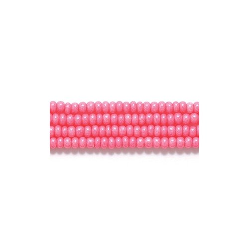 Preciosa Ornela Czech Seed Bead, Terra Opaque Pink, Size 11/0 Shipwreck Beads 11SB192-TA