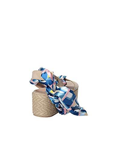 Beige Fornarina Wedge Sandals Women PE18TE3073 qgqXzw8I