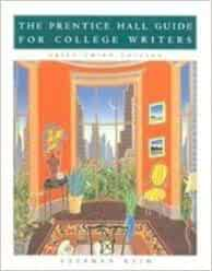 College guide writers hall for prentice pdf