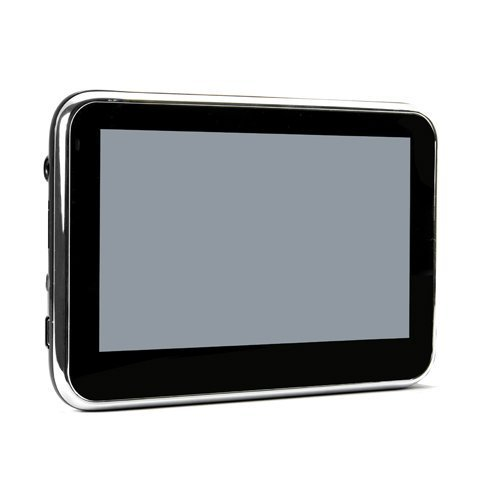 YBK Tech 4.3 inch Car GPS Sat Nav MTK 4GB with Europe UK and US USA Mapping