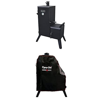 Amazon Com Dyna Glo Dgo1176bdc D Vertical Offset Charcoal Smoker