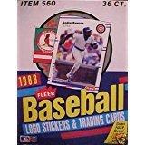 1988 Fleer Baseball Card Hobby Box ()