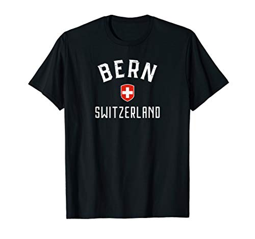 - Bern Switzerland T Shirt - Swiss Flag Bern Tee