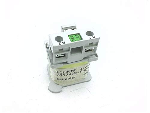 20VAC at 50HZ FURNAS ELECTRIC CO 3TY7463-0AC1 Magnet Coil 24VAC at 60HZ AC Operated