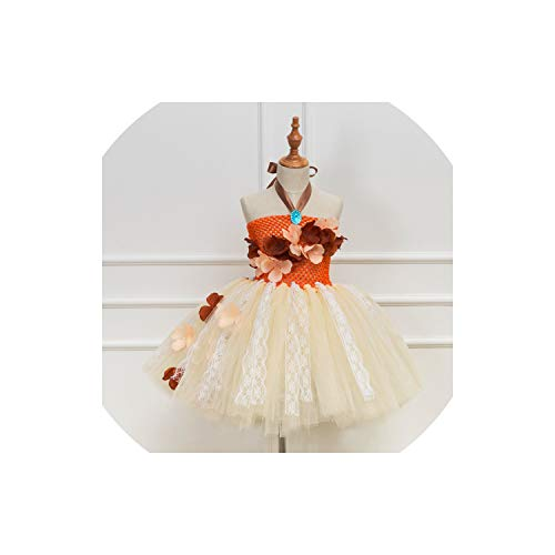 Tutu Dresss Party Dress Up Children Lace Tulle Flower Girl Dress Kids Halloween Cosplay Costume,Hd93244,12