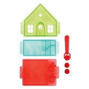 Good Cook Gingerbread House Cutter Set - w/Pattern Roller ()