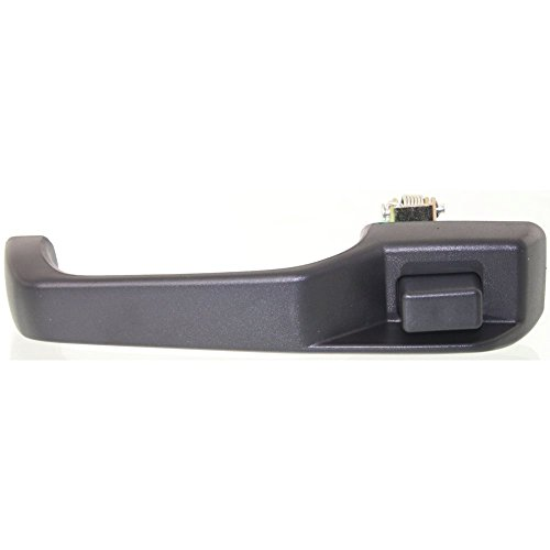 Door Handle for 97 Jeep Cherokee Country Front or Rear Right Side Exterior Plastic Black