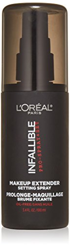 L'Oreal Paris Makeup Infallible Pro-Spray & Set Makeup Extender Setting Spray, 3.4 fl. Oz. by L'Oreal Paris