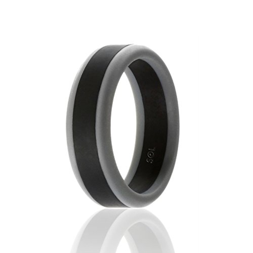 Wedding Band Series: Silicone Wedding Ring For Men By SOLEED Rings Power X