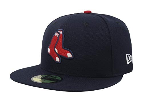 Sox 59fifty Authentic Cap - New Era 59FIFTY Boston Red Sox Navy MLB 2017 Authentic Collection On Field Alternate Cap Size 7 1/4