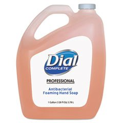 Dial Professional Antimicrobial Foaming Hand Soap, 128 Fl OZ by Dial