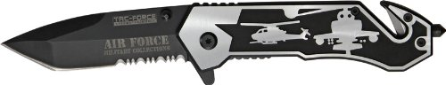 Tac Force TF-586AF Assisted Opening Folding Knife 4.5-Inch Closed, Outdoor Stuffs