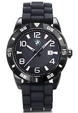 BMW men's sport watch - Black Rubber Band
