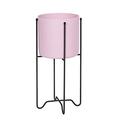 Pergolas Flower Stand Shelf Flower Stand Drop Subway Art Flower Stand Removable Wrought Iron Rack Multi-Function Storage Rack Resin Colorful Flower Balcony Flower Rack (Color : Pink, Size : 232354cm): Garden & Outdoor