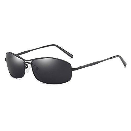 Sol TL Gafas de Moda Viaje de Sol Gafas Sunglasses Hombre gray Gafas Sol Brown Gafas de black Hombres polarizadas Nuevas p1PFzfp