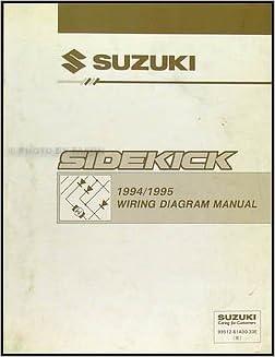 1994-1995 Suzuki Sidekick 1600/Sport 1800 X-90 Wiring Diagram Manual: Suzuki:  Amazon.com: BooksAmazon.com