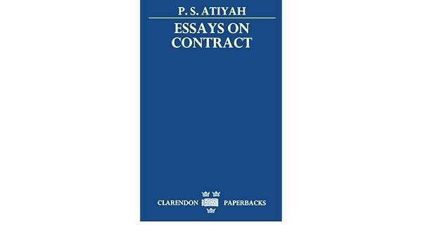 atiyah essays on contract calendar
