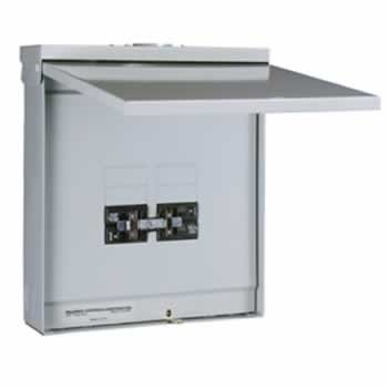 TRB 4/8 Circuit Outdoor Transfer Sub Panel / Link for 100A Generator