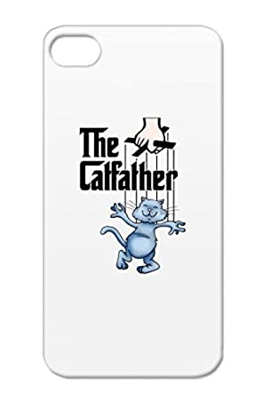 the catfather white for iphone 4s funny satire cat marionette