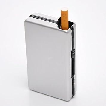 Amazon.com: Housweety Pitillera Caja de soporte para 10 ...