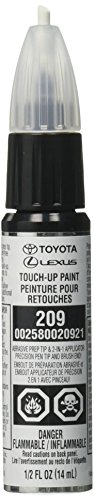 Genuine Toyota 00258-00209-21 Black Mica Touch-Up Paint Pen (.44 fl oz, 13 ml)