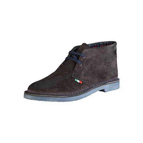 Chukka Bottines Homme in Made Marron Shoes Italia Sxf6Aq4