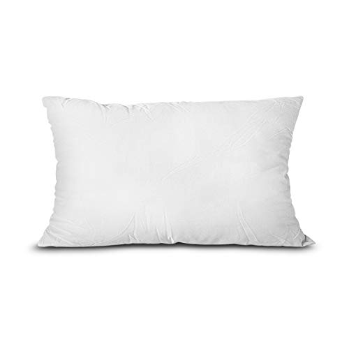 EDOW Throw Pillow Insert, Lightweight Soft Polyester Down Alternative Decorative Pillow, Sham Stuffer, Machine Washable.