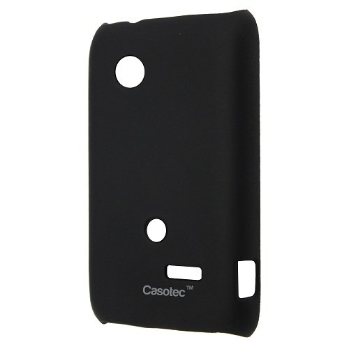 sports shoes 14aa0 35885 Casotec Ultra Slim Hard Shell Back Case Cover for Sony Ericsson Xperia Tipo  ST21i -Black