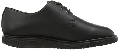 Dr.Martens Womens Torriano Softy 3 Eyelet Leather Shoes Black