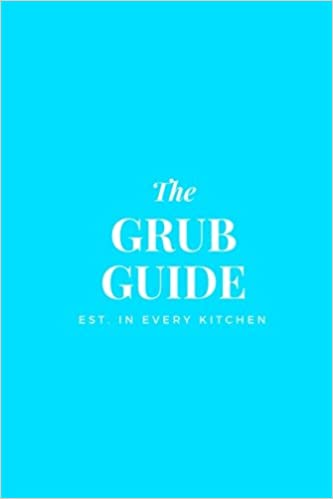Buy Grub Guide: 6x9 Blank Recipe Journal to Write In, Tiffany Blue ...