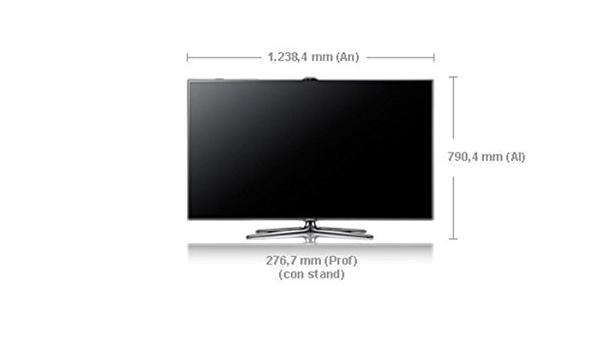 Samsung UE55ES7000 - LED 55 Full HD 3D Smart TV: Amazon.es: Electrónica