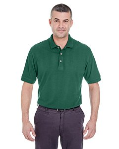 UltraClub Mens Classic Pique Polo (8535) -FOREST GRE ()
